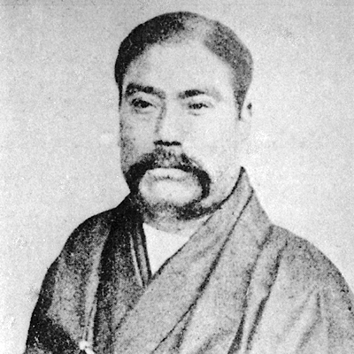 Portrait de Iwasaki Yatarô 岩崎弥太郎 (1835-1885) © 2013 National Diet Library, Japan.