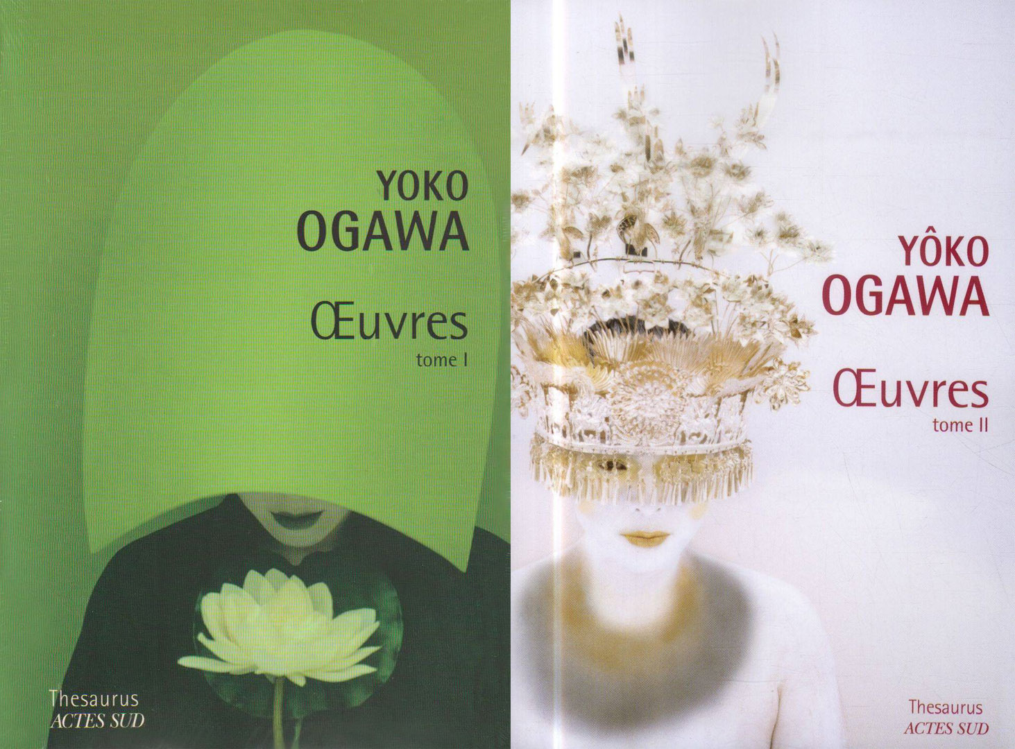 Yoko Ogawa - Oeuvres - tomes 1 et 2  - Thesaurus - Actes Sud