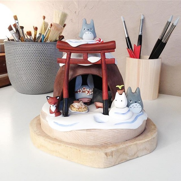 Work in progress : ma crèche de Noël par Kiboochan